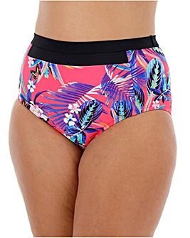 Mix and Match High Waist Bikini Bottom