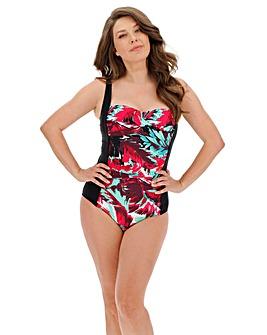 Magisculpt Twist Front Panelled Swimsuit