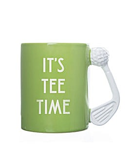 GOLF MUG ITS TEE TIME