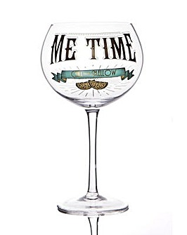 GIN PROHIBITION GLASS - ME TIME