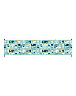 VW Beach Family 5 Pole Windbreaks