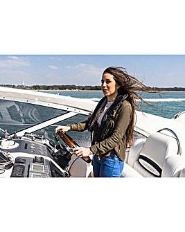 Champagne Motor Cruiser Driving for Two