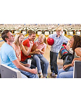 Family 1 Hour Bowling with Meal & Drinks