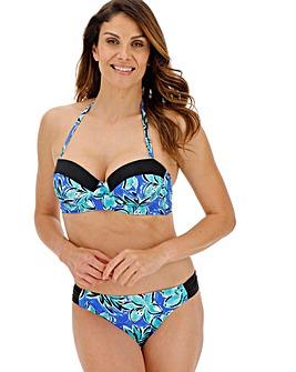 Underwired Bandeau Bikini Top
