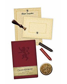 Game of Thrones Lannister Stationary Set