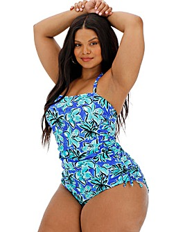 Adjustable Side Bandeau Swimsuit
