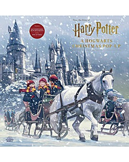 Harry Potter Hogwarts Christmas Pop Up