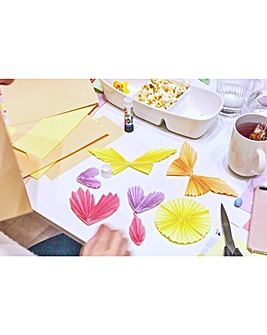 Create a Paper Craft Garland at Home