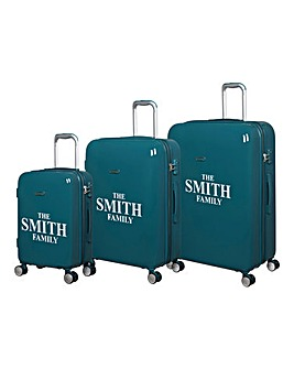 Set of 3 Personalised Suitcases
