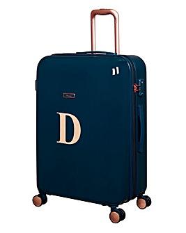 Large Initial Suitcase