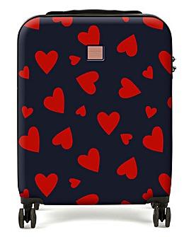 Redland Heart Print Cabin Case