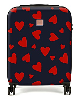 Redland Heart Print Medium Case