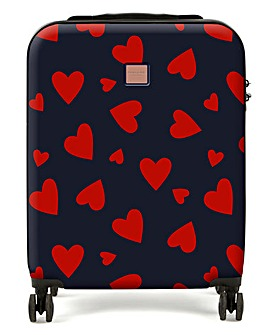 Redland Heart Print Large Case