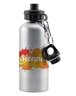 Personalised Colourful Water Bottle
