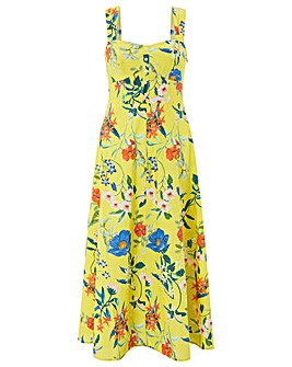 Monsoon Flora Print Sundress