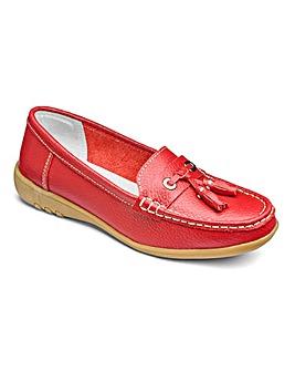 Cushion Walk Tassel Leather Loafers E Fit