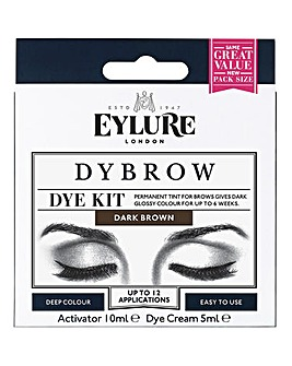 Eylure Dybrow Eye Brow Dye Kit - Brown