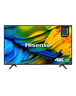 Hisense H43B7100UK UHD 4K Smart 43in TV