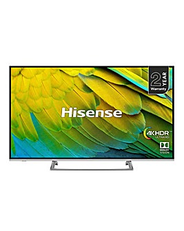 Hisense H50B7500UK 4K Smart 50in TV