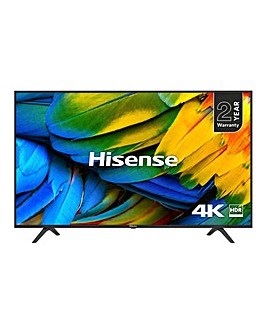 Hisense H55B7100UK 4K Smart 55in TV+Ins