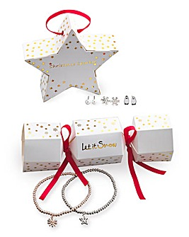 Jewellery Bauble & Cracker Set