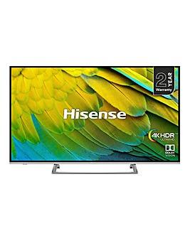 Hisense H65B7500UK UHD 4K Smart Infinity Screen 65 inch TV