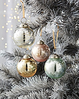 12 Luxury Pastel Party Baubles