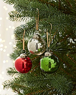 12 Luxury Chalet Bauble Set