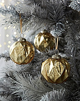Pack of 6 Luxury Baubles