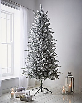 8ft Lapland Snowy Tree