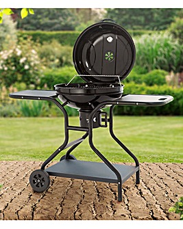 Tower Charcoal BBQ Grill With Tables