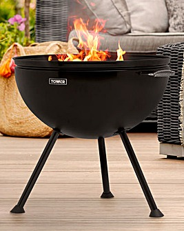 Tower 2-in-1 Fire Pit and BBQ