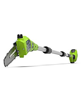 Greenworks 24V Cordless 20cm Pole Saw (Tool Only)
