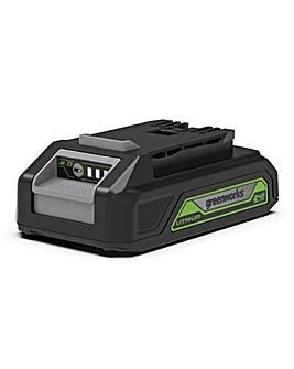 Greenworks 24V 2Ah Lithium-ion Battery