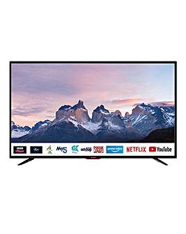 "Sharp 4T-C40BJ5KF2FB 40"" 4K UHD Smart Freeview TV"