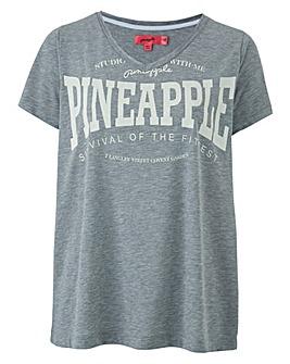 Pineapple V Neck tee
