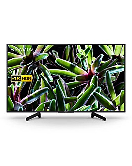 Sony UHD 4K HDR Smart 49IN TV + Ins
