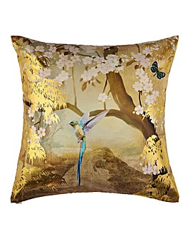 Suki Watercolour Metallic Cushion