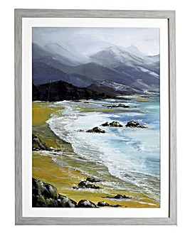 Winter Bay Framed Print
