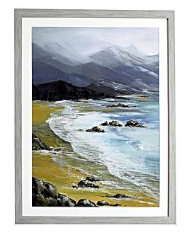 Winter Bay Framed Print
