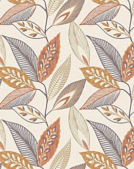 Arthouse Autumn Leaf Wallpaper
