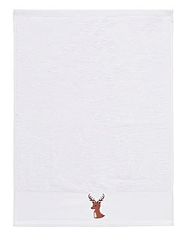 Reindeer Christmas Towel
