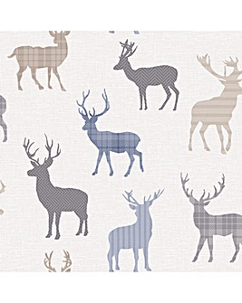 Arthouse Country Stag Wallpaper