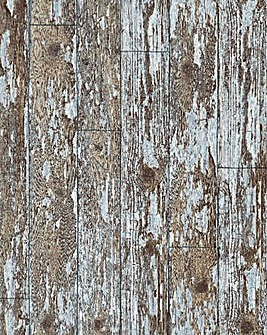 Arthouse Shabby Chic Wood Wallpaper