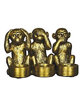 Monkey Tealight Holder