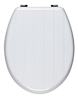 Tongue & Groove Toilet Seat