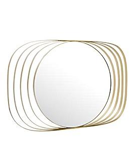 Arturo Mirror Champagne Silver