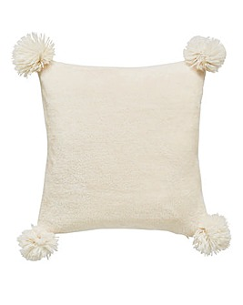 Cascade Pom Pom Cushion