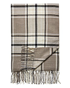 Henley Check Throw
