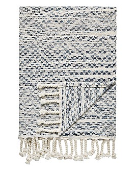 Hand Woven Ombre Throw